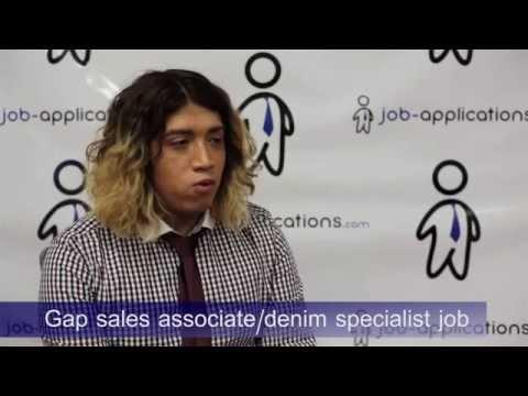Gap Sales Interview