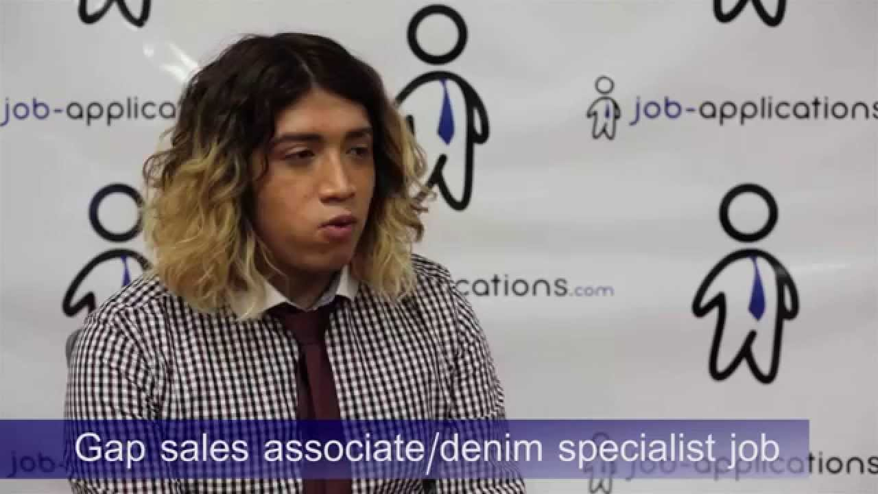 gap s interview s associate denim specialist