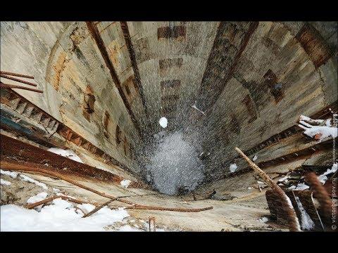 Abandoned missile silos in the Kaluga region