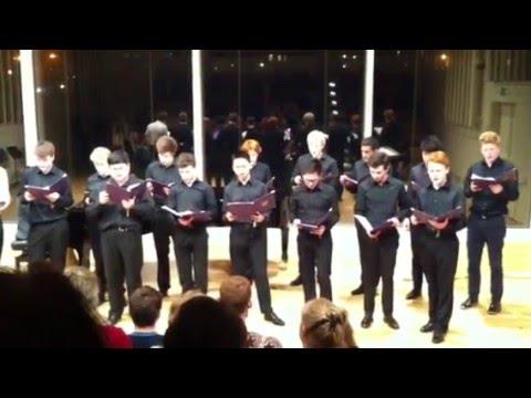 'God Bless our Homeland Ghana' (Ghanaian National Anthem)  by The Brighton College Male Voice Choir