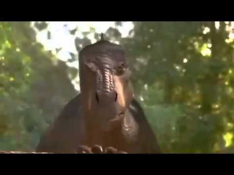 Динозавр трейлер мультфильм