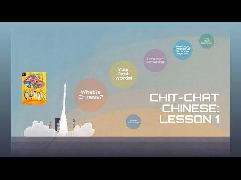 CHIT-CHAT CHINESE: Mandarin Lesson 1