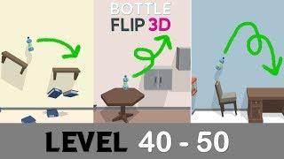 Level 40 - 50 | Bottle Flip 3D! | The JB💎