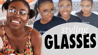 STYLING MY FAVOURITE GLASSES