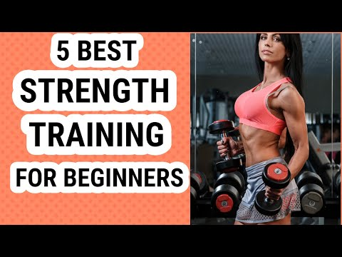 5 best strength training workout routines for beginners (home & gym) | WORKOUT ROUTINE
