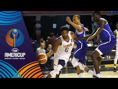 Dominican Republic v USA - Full Game - FIBA AmeriCup 2017