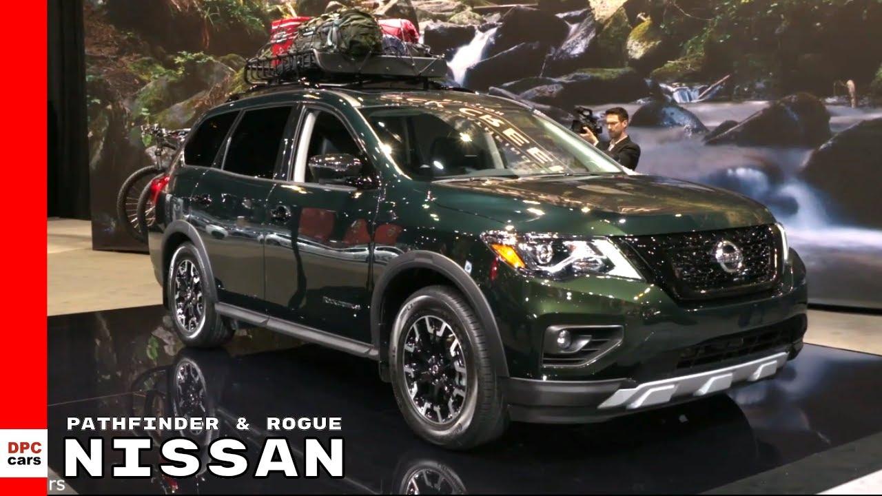 2020 Nissan Rogue Sport 2019 Pathfinder Rock Creek Edition