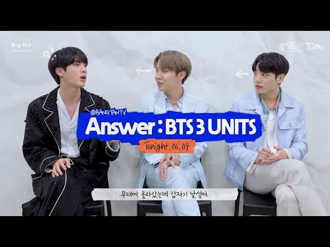 [2020 FESTA] BTS (방탄소년단) Answer : BTS 3 UNITS 'Jamais Vu' Song by Jin & j-hope & Jung Kook