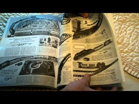 """""""The Toy Train Department"""" Sears Toy Train Catalogs"""