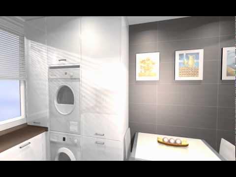 Cocina aprovechada sin recargar arredo youtube for Cocina y lavadero integrados