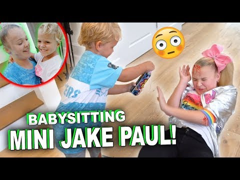 BABYSITTING MINI JAKE PAUL!!! GONE WRONG... from YouTube · Duration:  3 minutes 40 seconds