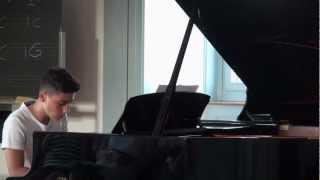 Franz Schumann: Zigeunertanz (piano song by Dave)