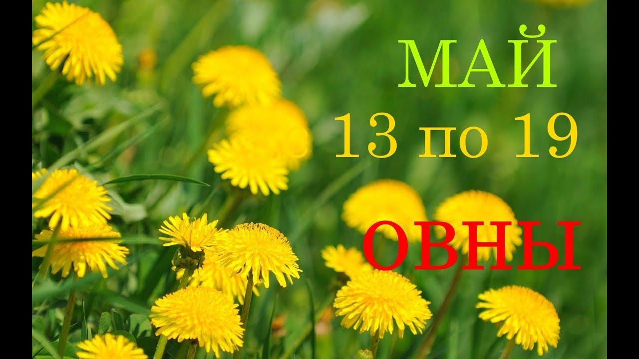 ОВЕН. ГОРОСКОП -ТАРО на НЕДЕЛЮ с 13 по 19 МАЯ 2019г.