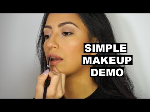 Simple Makeup Demo || nuggetorleaveit
