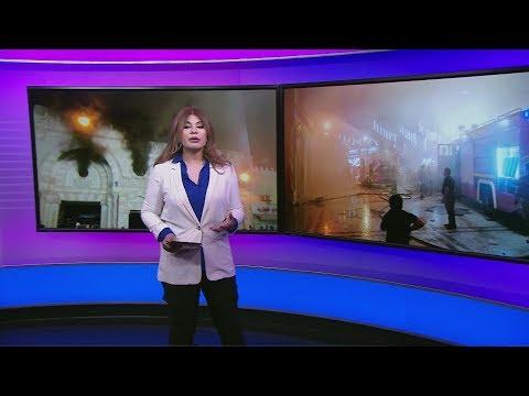 فيديو| حريق ضخم في أقدم مسجد في #الأردن  - نشر قبل 52 دقيقة