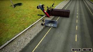Wrecked Destruction Simulator - gameplay
