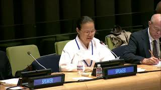 Dr. Chung Ohun Lee Speaking at  Nuclear Weapons and the Moral Compass