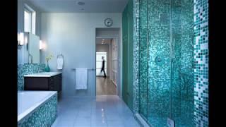 видео Плитка мозаика для ванной - 35 фото. Ее виды и способы укладки.