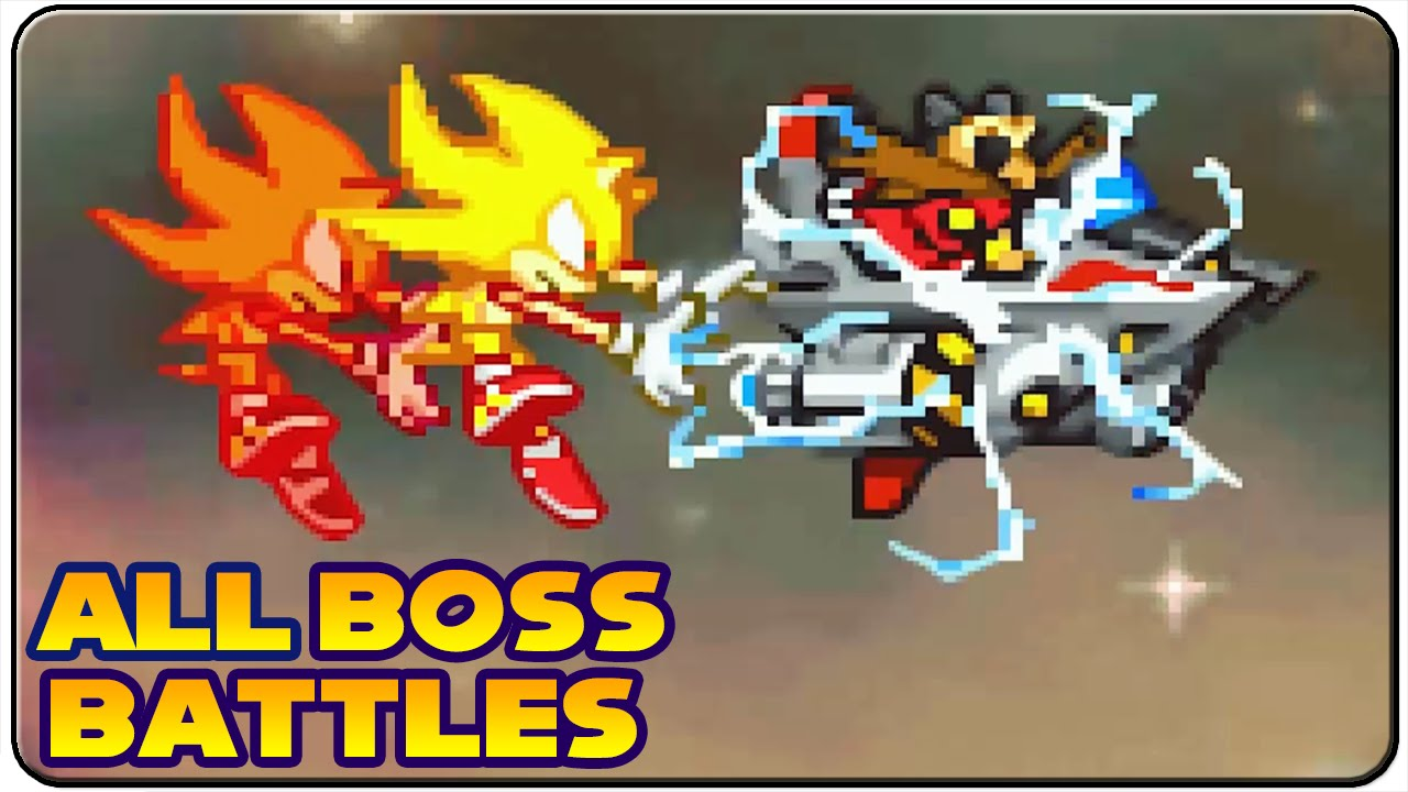 Sonic Advance 3 - All Bosses (No Damage)