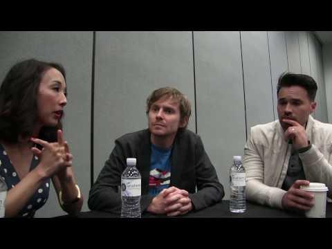 Maurissa Tancharoen, Brett Dalton & Jed Whedon - Agents of S.H.I.E.L.D. Interview