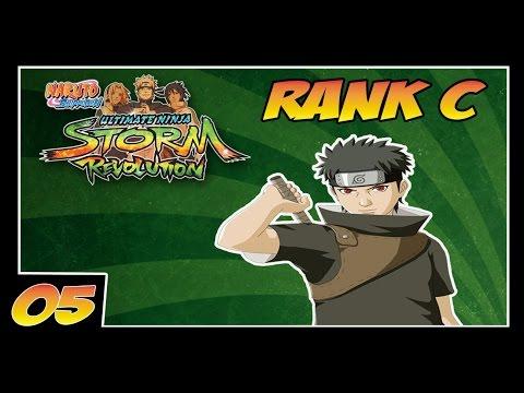 Naruto Ninja Storm Revolution - Parte 5 // Torneio Ninja Rank C // UCHIHA SHISUI