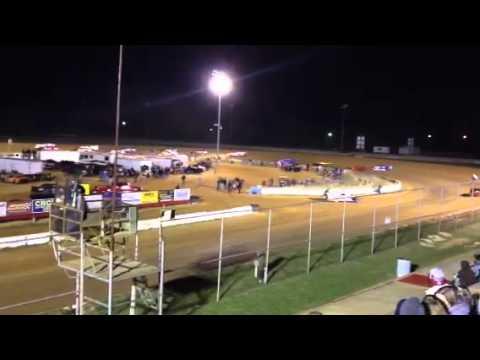 Fayetteville Motor Speedway - Monster Crash 4/7/12