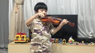 Violin - Always (Descendants of the Sun) June 2016, age 6