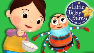 Learn with Little Baby Bum | Little Miss Muffet | Nursery Rhymes for Babies | Songs for Kids