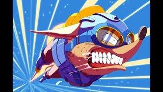 Rocket Knight Adventures прохождение  Crazy Hard  Игра на SEGA Genesis Mega Drive SMD Стрим RUS