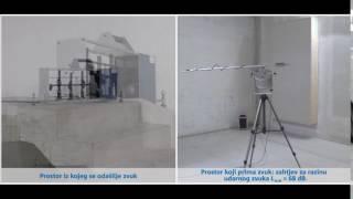 Učinak izolacije udarnog zvuka: kruti priključak