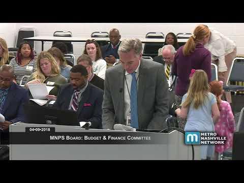 04/09/18 MNPS Board: Budget & Finance Committee