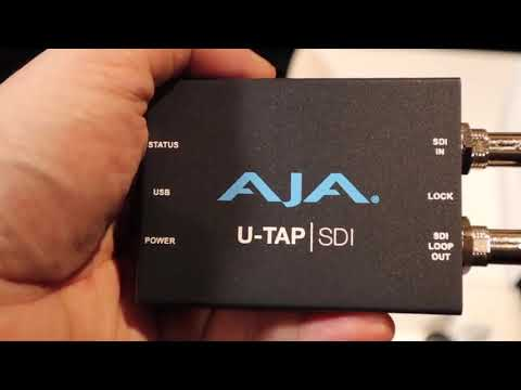 REVIEW: AJA U-TAP | SDI Streaming Converter Box