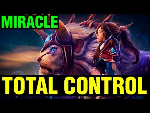 Total Control Of Hero! - Miracle- Mirana - Dota2