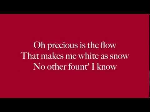 The Blood Song-Donnie McClurkin, Crystal Lewis, Jaci Velasquez, Kirk Franklin Lyrics