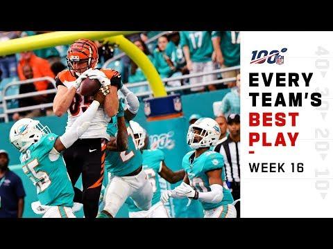 Every Team's Best Play of Week 16!