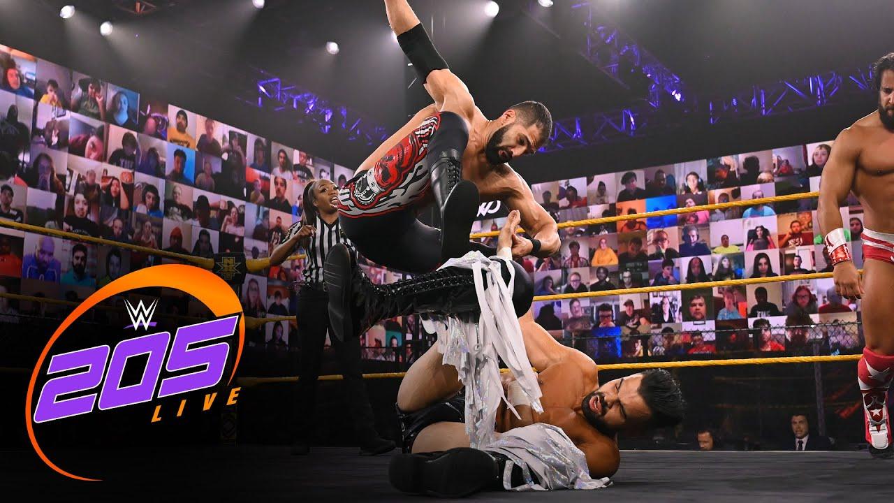 Chase Parker & Sunil Singh vs. Tony Nese & Ariya Daivari: WWE 205 Live, April 2, 2021