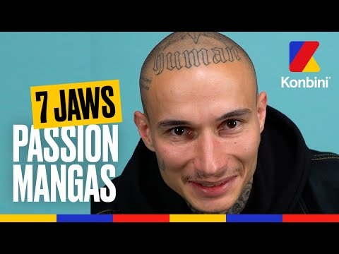 Youtube: 7 Jaws nous parle de sa passion pour les mangas et les animes l Passion l Konbini