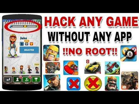 hack games with no root