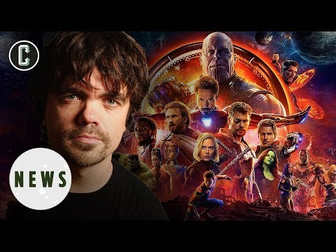 Is That Peter Dinklage in the New Avengers: Infinity War ?