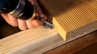 Монтаж террасной доски на крепеж Pro(, 2014-02-19T21:45:32.000Z)