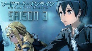 Sword Art Online : Saison 3 + Film 2017(Lien vers le résumé : http://swordartonline.wikia.com/wiki/Alicization_Arc ▻ L'actualité Gaming, série, manga etc. : http://www.culturegeek.eu/ ▻ De la bouffe ..., 2016-08-23T19:21:40.000Z)