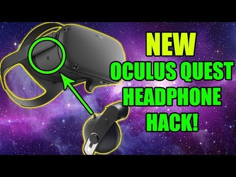 Oculus Quest Headphone Mod From HTC Cosmos Insider | Best VR Sound