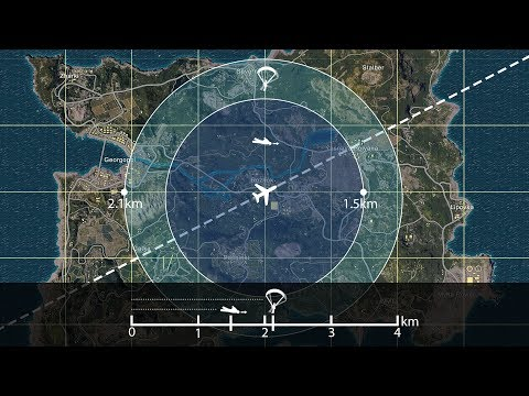 OCD - PUBG Parachuting and Skydiving