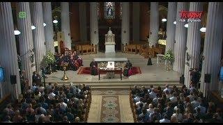 Podróż apostolska Franciszka do Irlandii: Wizyta w katedrze p.w. Najświętszej Maryi Panny w Dublinie