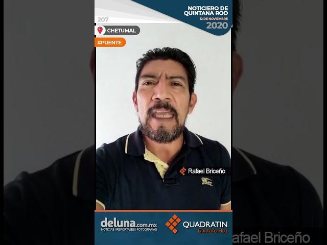 NOTICIERO DE QUINTANA ROO 12 DE NOVIEMBRE 2020
