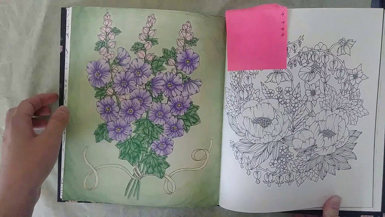 Finished Coloring Pages For August 2018 Happy Mail And Exciting