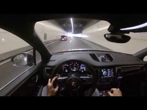 POV – Porsche Macan S – PSE sound – Cruising through tunnel