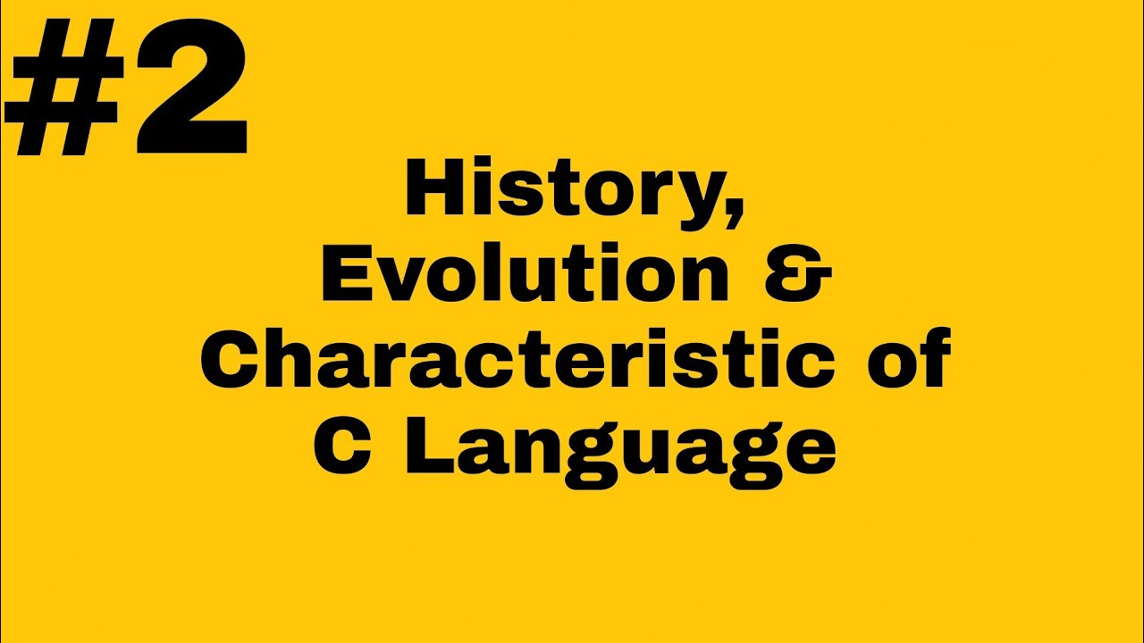 what does c mean in history
