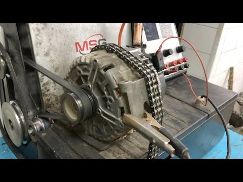 Снятие генератора Mercedes-Benz W221 M272 3.5L