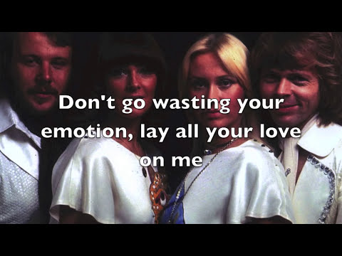 ABBA - Lay All Your Love On Me Lyrics